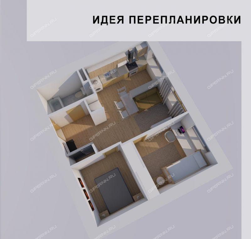 однокомнатная квартира на улице Магистральная дом 313 деревня Афонино фото