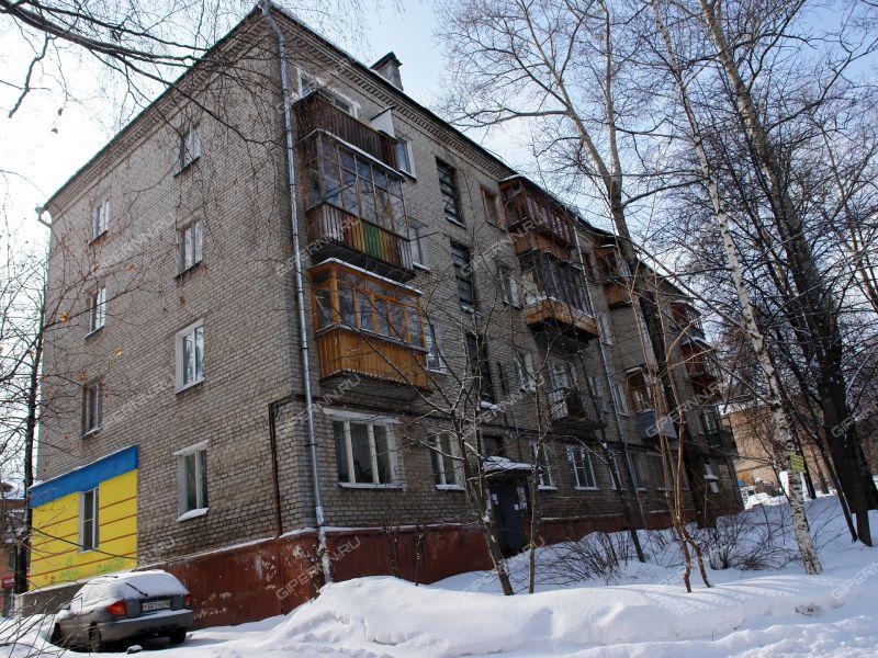 комната в доме 34 на улице Бекетова