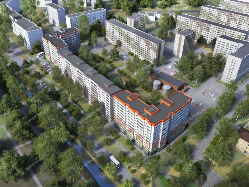однокомнатная квартира в новостройке на на пересечении Мончегорской и Космической