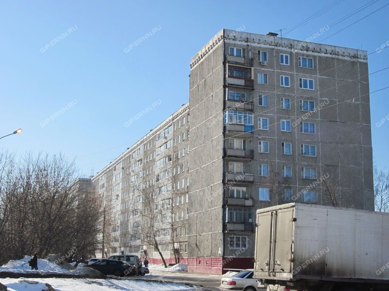 трёхкомнатная квартира на улице Космическая дом 46