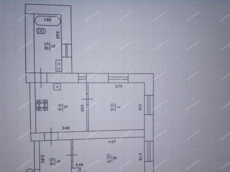 двухкомнатная квартира на улице Маслова город Городец