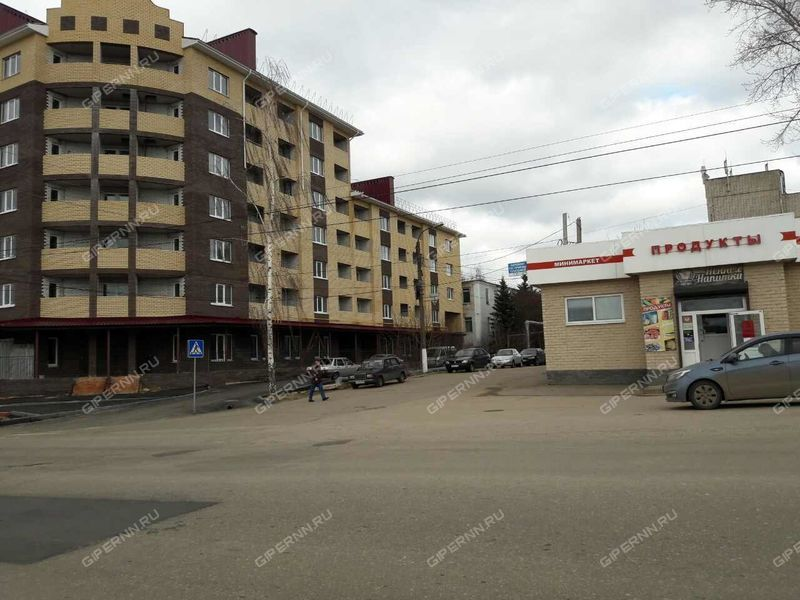 трёхкомнатная квартира в новостройке на улице Володарского город Арзамас