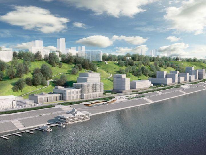 Представлен проект застройки Черниговской набережной в Нижнем Новгороде