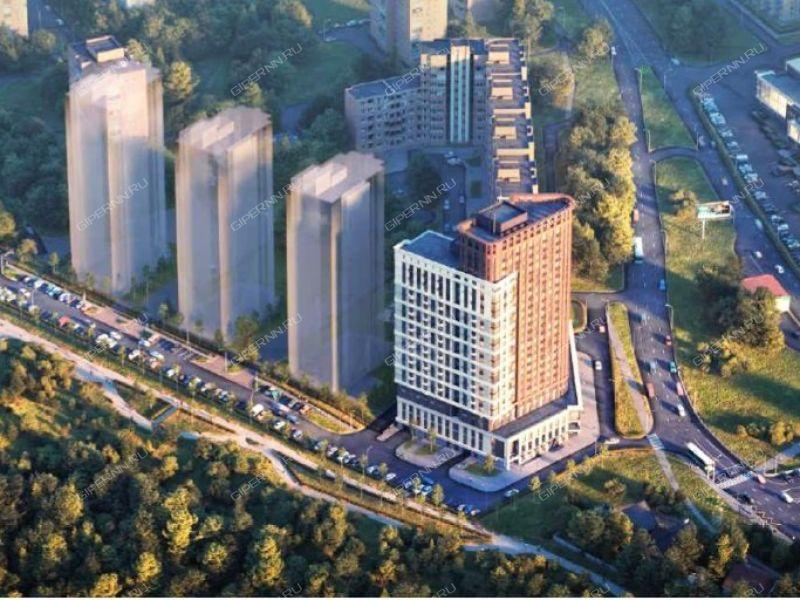 четырёхкомнатная квартира в новостройке на в границах улиц Родионова, Северо-Восточная