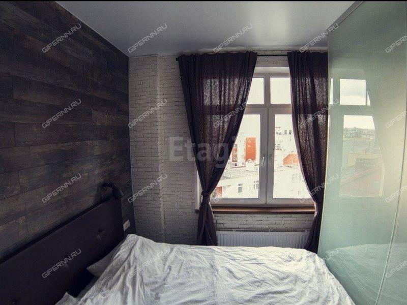 однокомнатная квартира на улице Максима Горького дом 43