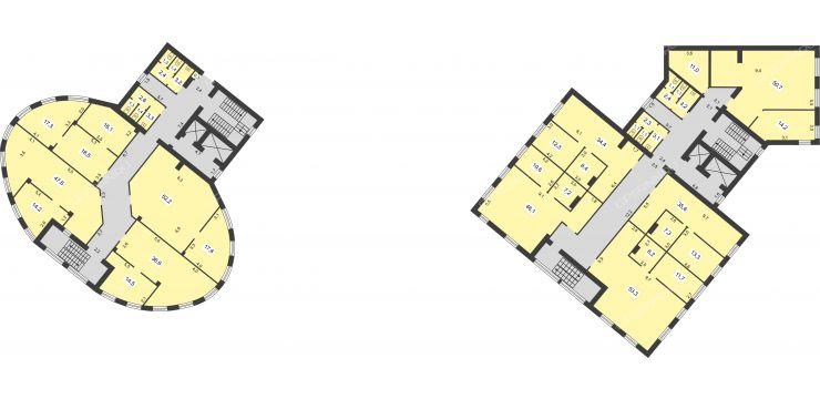 dve-bashni-belinskogo-ulica-32 планировки бизнес-центра фото